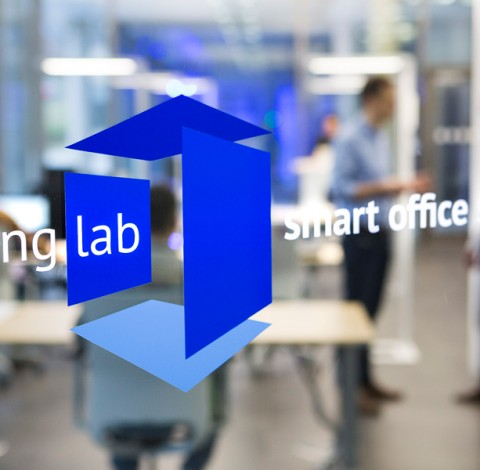 Living Lab smart office space.