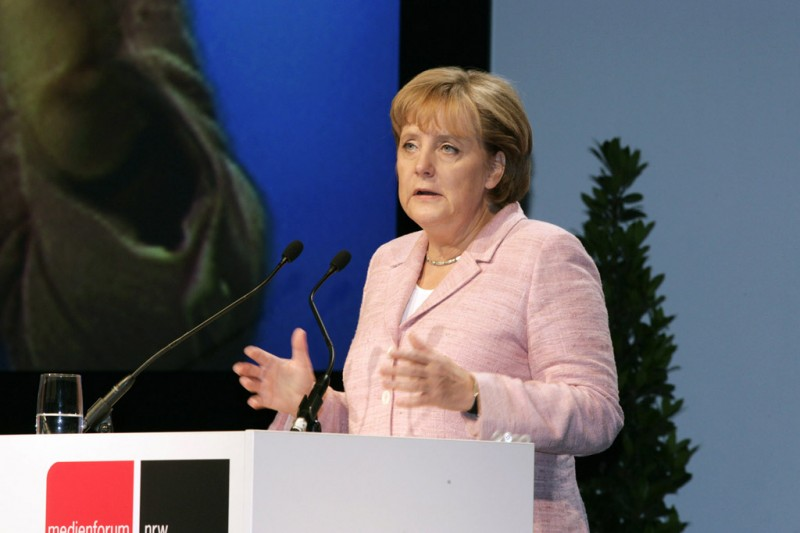 Dr. Angela Merkel, Medienforum NRW, 2007